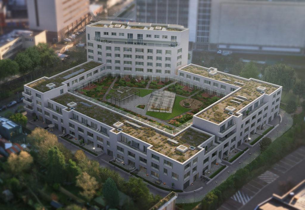 Zilverkwartier appartementen Antwerpen